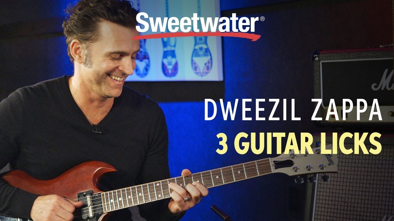 3 frank zappa licks shown by dweezil zappa youtube. Black Bedroom Furniture Sets. Home Design Ideas