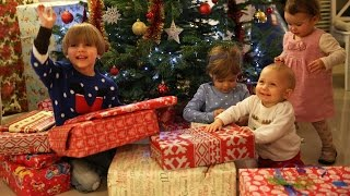 Opening Christmas Presents - Toys And More