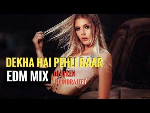 Dekha Hai Pehli Baar EDM Mix ||  Dj Viren and Dj Inayat  || musical zone
