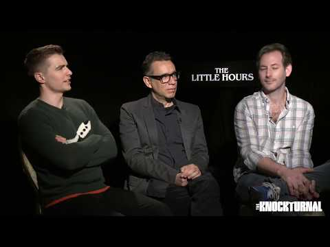 Dave Franco, Fred Armisen, Director Jeff Baena Talk 'The Little Hours'