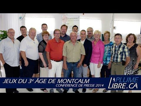 Jeux du 3e âge de Montcalm | Conférence de presse 2014
