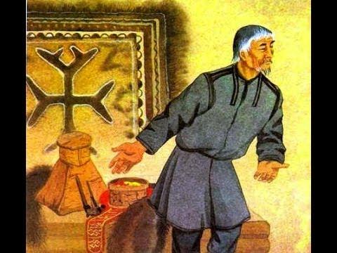 """Kets - Ket people - Ket fairy tale """"Cuckoo"""" in Ket language!"""