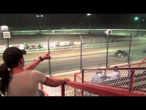 El Paso County Speedway Calhan Aug 10 2013 Dwarf Car Racing