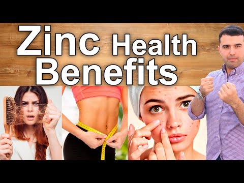THE MINERAL OF LIFE Zinc Health Benefits for The Skin, Digestion, Immune System, Diabetes and More
