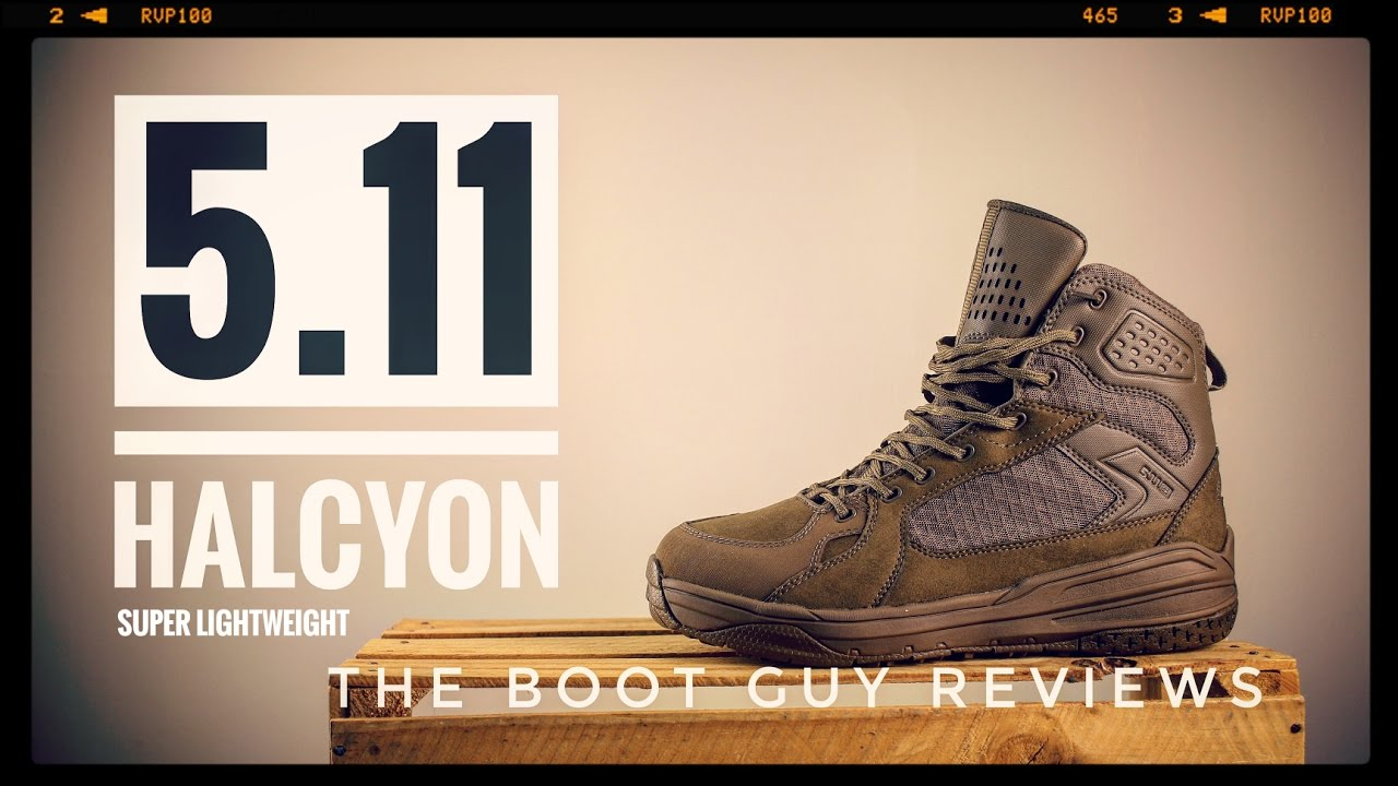 5.11/Tactical Halcyon Waterproof Boot