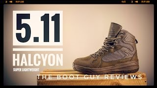 5.11 HALCYON DARK COYOTE TACTICAL BOOT [ The Boot Guy Reviews ]
