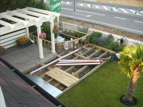 Proceso constructivo de tarima de madera composite youtube for Tarimas de madera para jardin