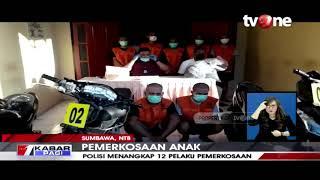 Tega! 12 Pria Di Sumbawa Perkosa Anak SMP, 7 Diantaranya Masih Dibawah Umur | TvOne