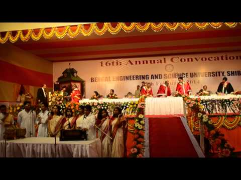 16th Annual Convocation of Bengal Engineering & Science University, Shibpur, 2014 - Part 13