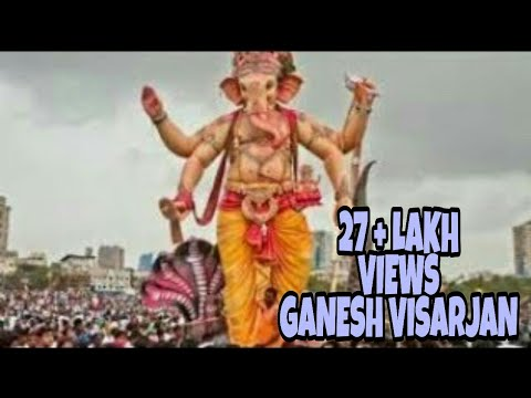 BIG, HUGE & TOP Ganesh Visarjan Ever...