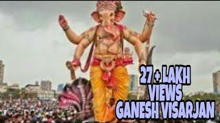 BIG, HUGE & TOP Ganesh Visarjan Ever Mumbai ( INDIA)
