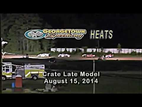 Georgetown Speedway 8 15 2014 Heat Race