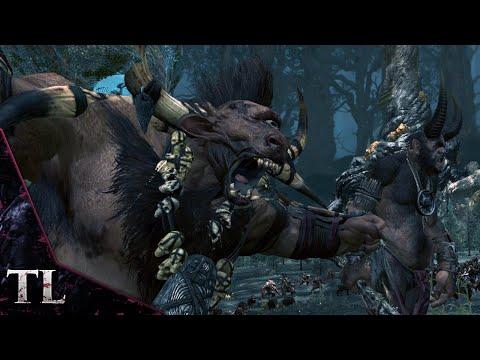 BEASTMEN DLC BATTLE - Total War: Warhammer Gameplay |