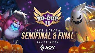 VOCUP 11 Semifinal dan Final - Garena AOV (Arena of Valor)