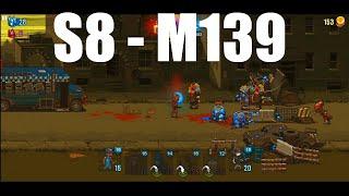 Dead Ahead Zombie Warfare Stage 8 - Mission 139, 3Star