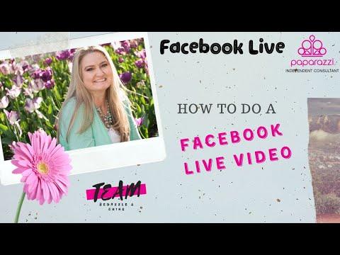 How To Do A Facebook Live Video