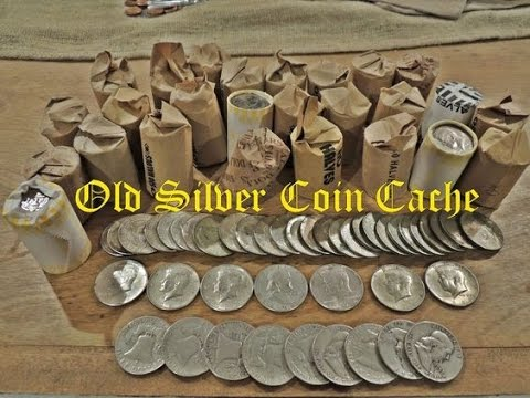 Coin Roll Hunting - Half Dollars...you wont believe how much silver I found...