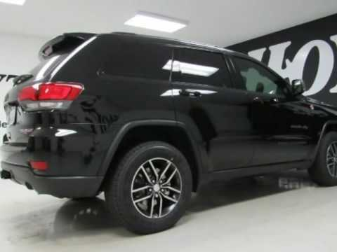 2017 jeep grand cherokee trailhawk diamond black new suv for sale mckinney tx youtube. Black Bedroom Furniture Sets. Home Design Ideas