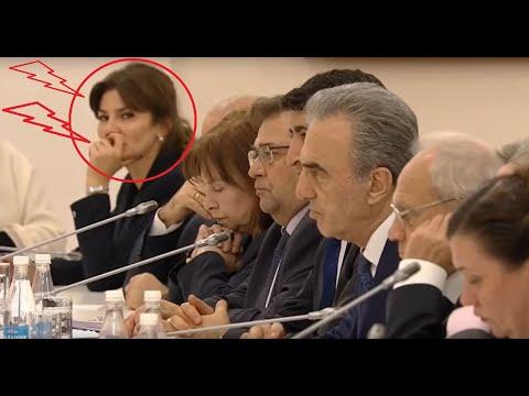 Она в носу ковырялась когда Путин обсуждал проблемы кавказских народов в РФ.