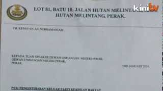 PKR denies its Hutan Melintang rep has quit party