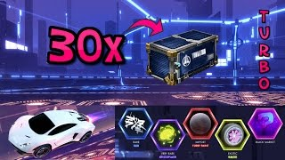 One of Mittens's most viewed videos: 30 NEW TURBO CRATES!! ( Rocket League Crate Opening )