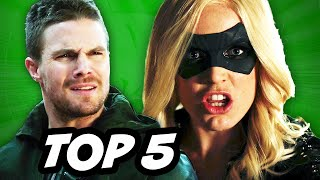Arrow Season 3 Episode 13 - TOP 5 WTF