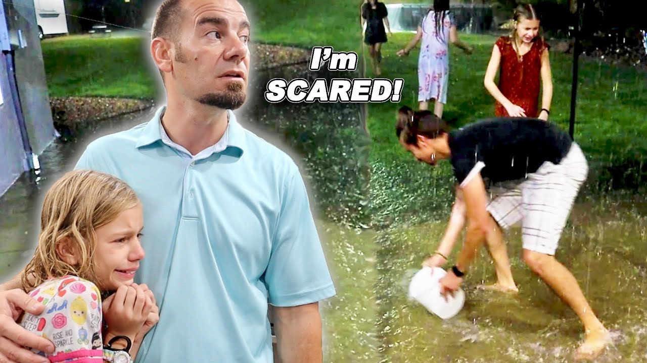 Download House FLOOD Caught On Video!