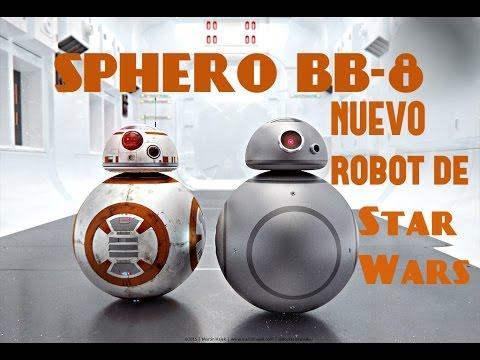 SPHERO BB-8 ( EL NUEVO ROBOT DE LA PELÍCULA  STAR WARS )