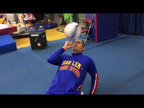 Learning Cirque du Soleil Tricks | Harlem Globetrotters
