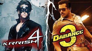 Salman Khan करेंगे Dabangg 3,Bang Bang Jodi Katrina Kaif Hrithik Roshan To Romance Again In Krrish 4