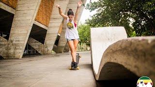 Dia de treino II - Ana Maria Suzano - Longboard Dancing Freestyle