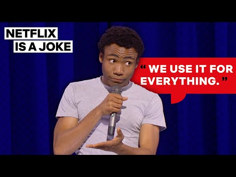 Donald Glover Reveals The One Thing Charlie Sheen Did Right   Netflix Is A Joke