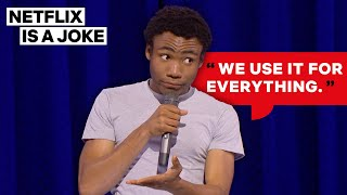 Donald Glover Reveals The One Thing Charlie Sheen Did Right | Netflix Is A Joke
