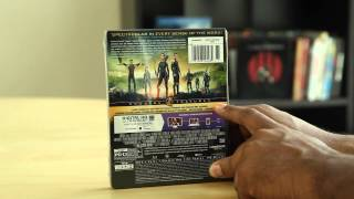 The Hunger Games: Catching Fire Blu-ray Steelbook Unboxing