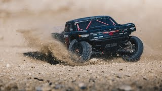 ARRMA 2018 1/10 SENTON 6S BLX Brushless 4WD RTR Blk/Grn Video