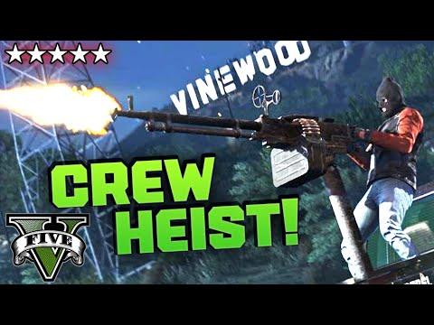 Gta V Ps4 Heist Crew