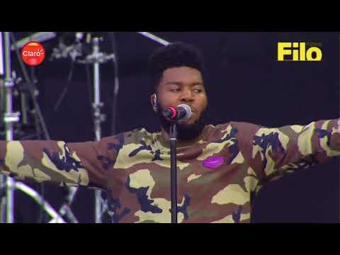 Khalid - Lollapalooza 2018   Full Performance from Argentina