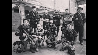 Airsot Gameplay - Capture the Flag - Defcon Airsoft Team - CQB City Brasil