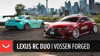 Rocket Bunny Lexus RC F & RC 350 | 6IXSIDE | Vossen Forged