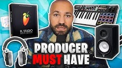 Was braucht man um Musik zu produzieren (Anfängerhilfe und meine Empfehlungen) 2019