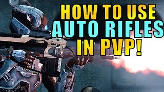 Destiny: How to Use AUTO RIFLES in PVP! (Parody)| Age of Triumph