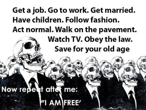 We Have All Become Slaves To The System