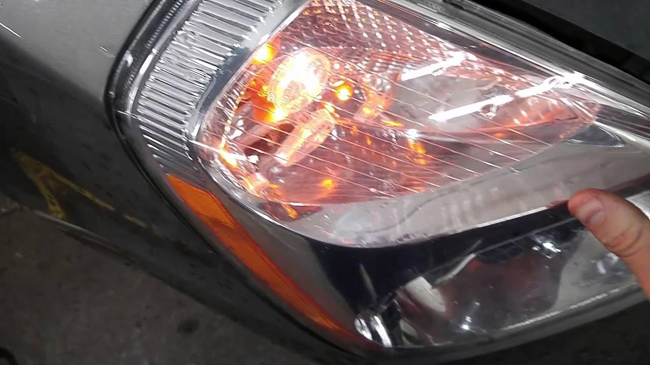 Tech Tips Kia Sedona Headlight Replacement