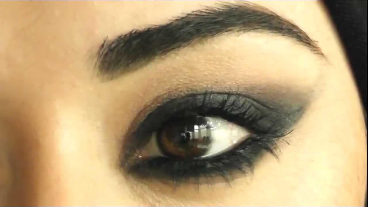 Cheryl Cole Makeup Tutorial Arabic Smokey Eye شيريل كول