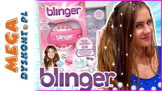 BLINGER  Diamentowe kryształki we włosach ✨ Cobi