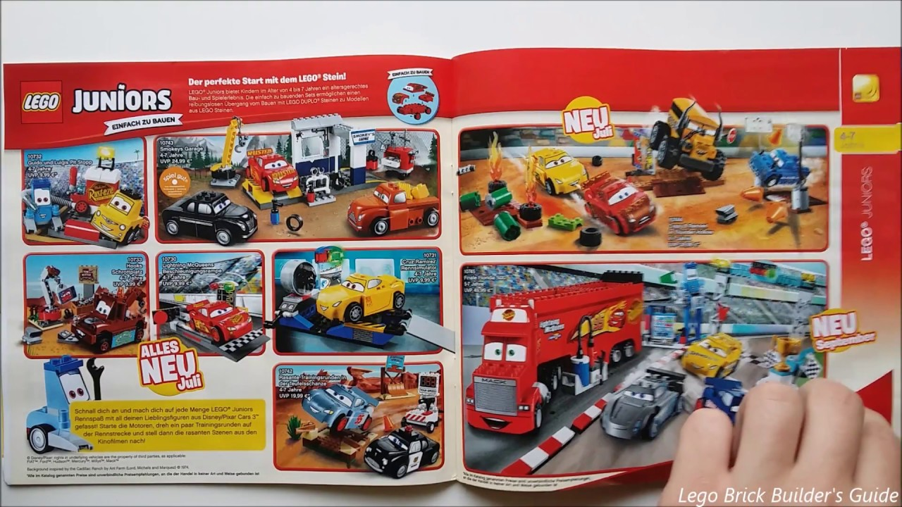 Complete Lego Catalog 2 HY 2017