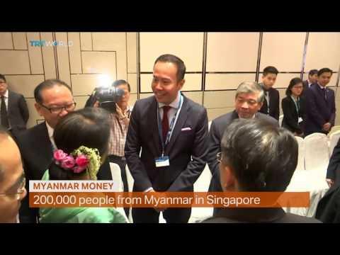 Money Talks: Aung San Suu Kyi woos investors in Singapore