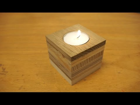 Tealight Candle Holder From S Wood