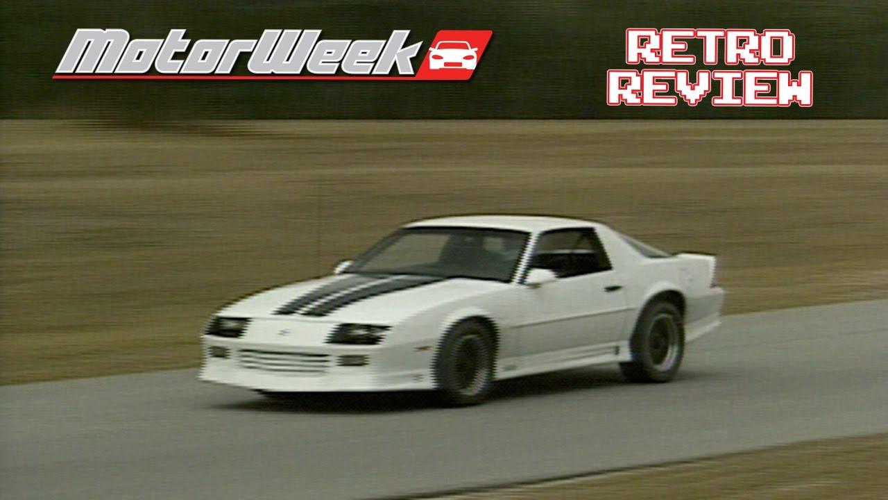 Retro Review 1992 Chevy Camaro Heritage Edition Prototype Youtube