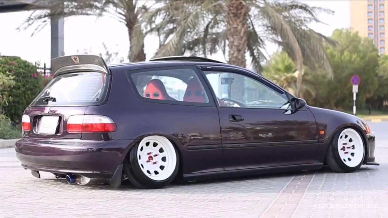 Honda Civic Eg JDM UAE - YouTube
